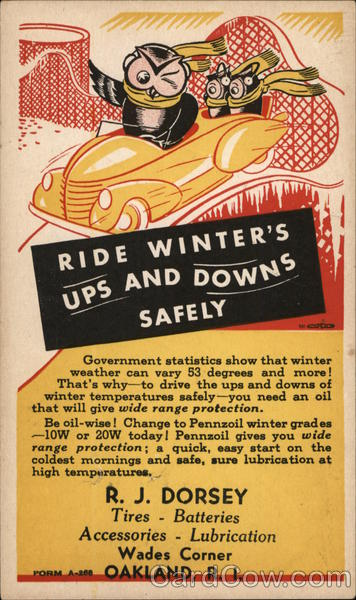 Ride Winter's Ups and Downs Safely Oakland Rhode Island