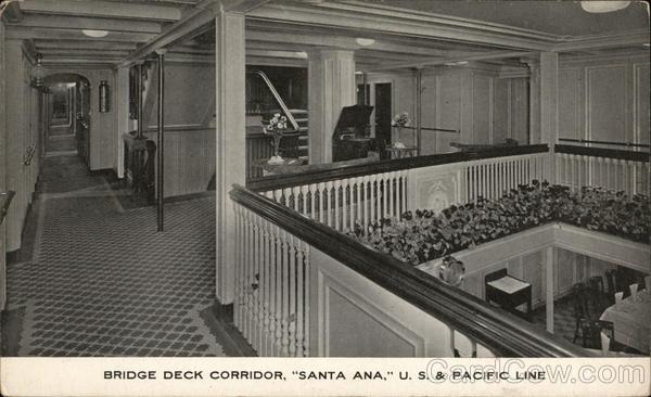 Bridge Deck Corridor, Santa Ana, US & Pacific Line