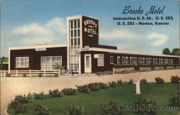 Brooks Motel Norton Kansas