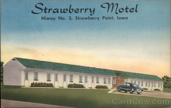 Strawberry Motel Strawberry Point Iowa