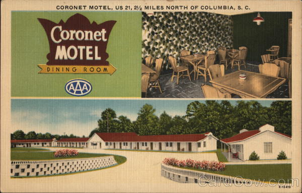 Coronet Motel Columbia South Carolina