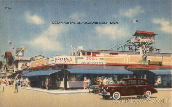 Ocean Pier Spa Old Orchard Beach Maine