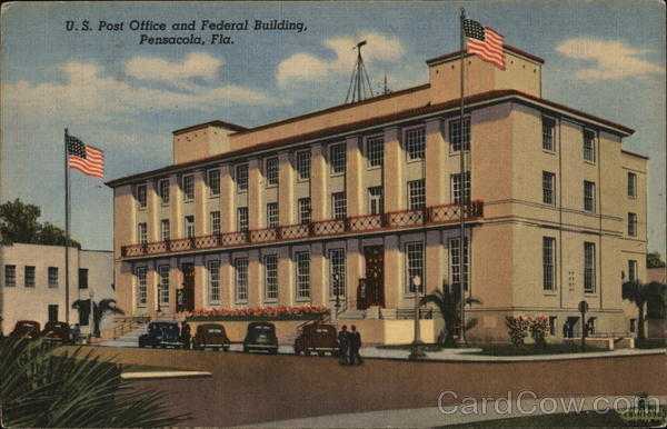 US Post Office and Federal Building Pensacola Florida