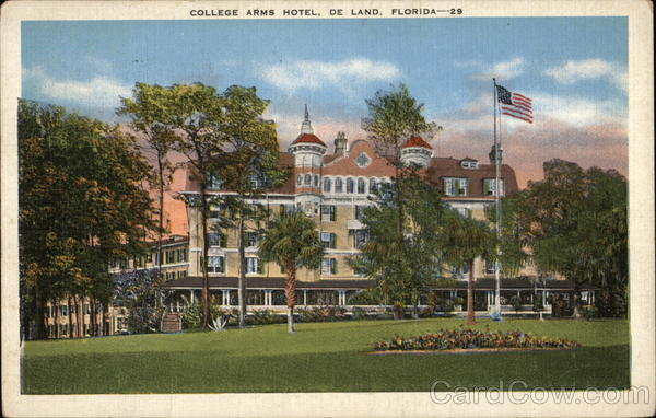 College Arms Hotel DeLand Florida