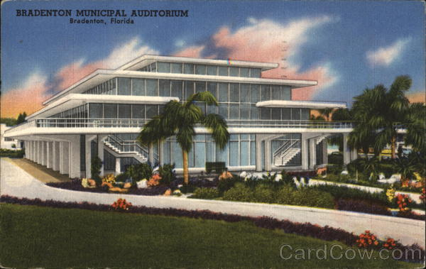 Bradenton Municipal Auditorium Florida Harold R. Smith