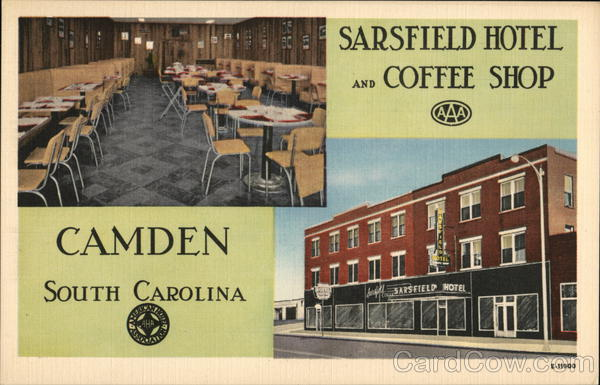 Sarsfield Hotel And Coffee Camden South Carolina