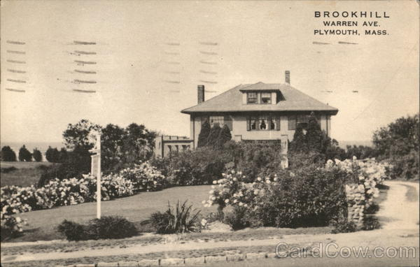 Brookhill, Warren Ave. Plymouth Massachusetts