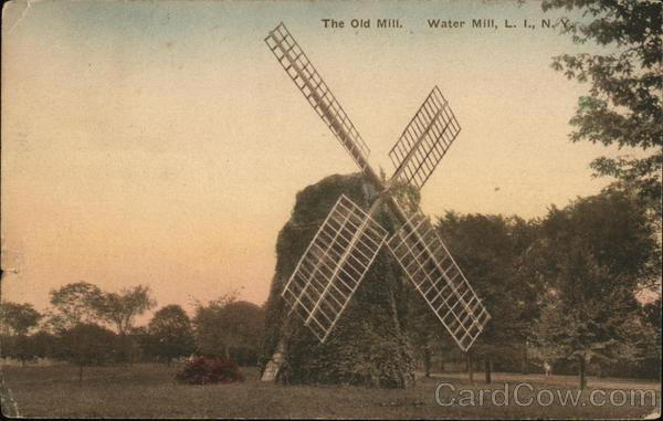 The Old Mill, Water Mill, Long Island Southampton New York