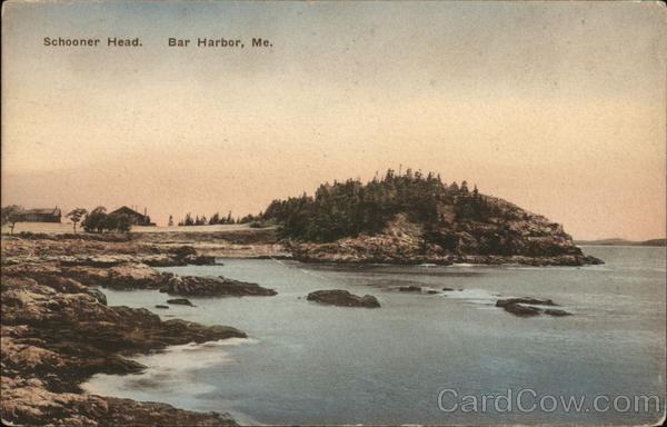 Water View of Schooner Head Bar Harbor Maine