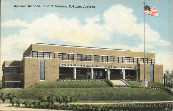 Kokomo National Guard Armory Indiana