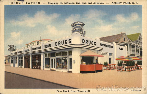 Jerry's Tavern Asbury Park New Jersey