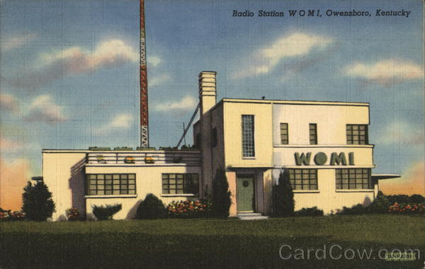 Radio Station WOMI Owensboro Kentucky