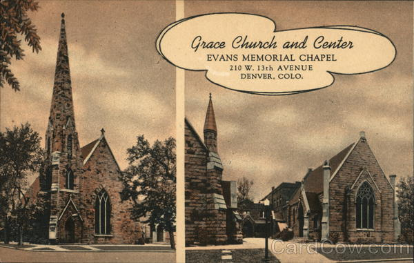 Historic Grace Church and Center, Evans Memorial Chapel Denver Colorado