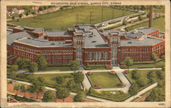 Bird's Eye View of Wyandotte High School