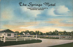 "The Springs Motel, ""Largest and Finest In The World"""