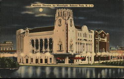 Mayfair Theatre, by Moonlight