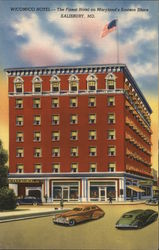 Wicomico Hotel - The Finest Hotel on Maryland's Eastern Shore Postcard