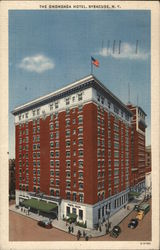 Bird's Eye View of The Onondaga Hotel