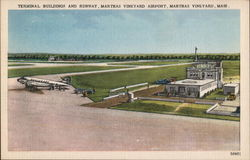 Terminal Buildings and Runway, Marthas Vineyard Airport