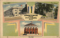 Greetings - Post Office, Court House, City Hall