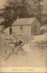 Thoreau's Home at Lake Walden