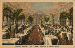 The Copley PLaza - Dining Room