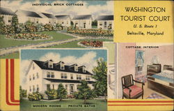 Washington Tourist Court, On Route 1