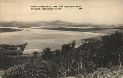Mooselookmeguntic Lake From Oquossoc Road, Rangeley Lakes Region, Maine