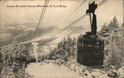 Cannon Mt. Aerial Tramway, White Mountains, In Winter