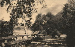 Mascoma Lake Postcard