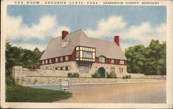 Audubon State Park - Tea Room