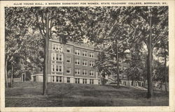 Allie Young Hall, A Modern Dormitory For Women, State Teachers' College