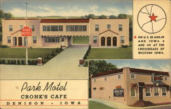 Park Motel and Cronk's Cafe