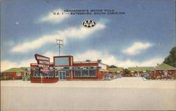 Henderson's Motor Villa and Restaurant