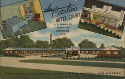 Catalina Court Hotel Postcard