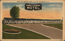 "Town and Country Motel, U. S. 301, ""For Discriminating Tourists"""