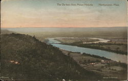 The Ox-bow from Mount Holyoke, Northampton, Mass.