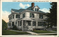 Former Home of Ex-President Calvin Coolidge