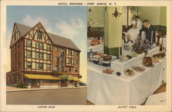 Hotel Minisink - Coffee Shop, Buffet Table