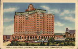 "The Baker Hotel, ""Where America Drinks its Way to Health"""