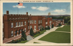Riverside Military Academy Postcard