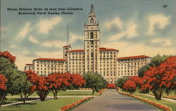 Miami Biltmore Hotel, As Seen From Columbus Boulevard