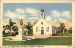 The Shrine at St. Anne des Lacs Postcard