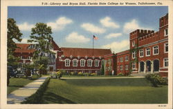 Library and Bryan Hall, Florida State College for Women