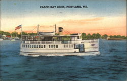 "The Motor Vessel ""Gurnet"", Owned & Operated by Casco Bay Lines"