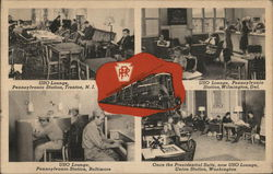 USO Lounges in Pennsylvania Railroad Stations
