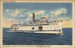 New Bedford, Marthas Vineyard and Nantucket Steamboat Line, Mass.