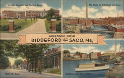 Greetings from Biddeford and Saco