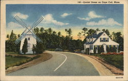 Oyster Harbors Club - Entrance Postcard