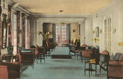 "The Lounge of ""The Belmont"", Cape Cod"